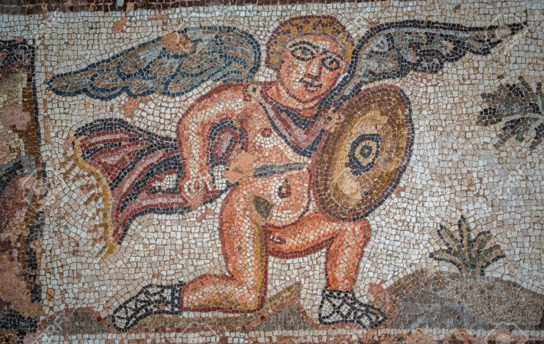Visit Paphos Mosaics in a taxi in Paphos