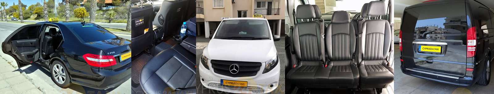 Cyprus taxi: cars and minibuses photo